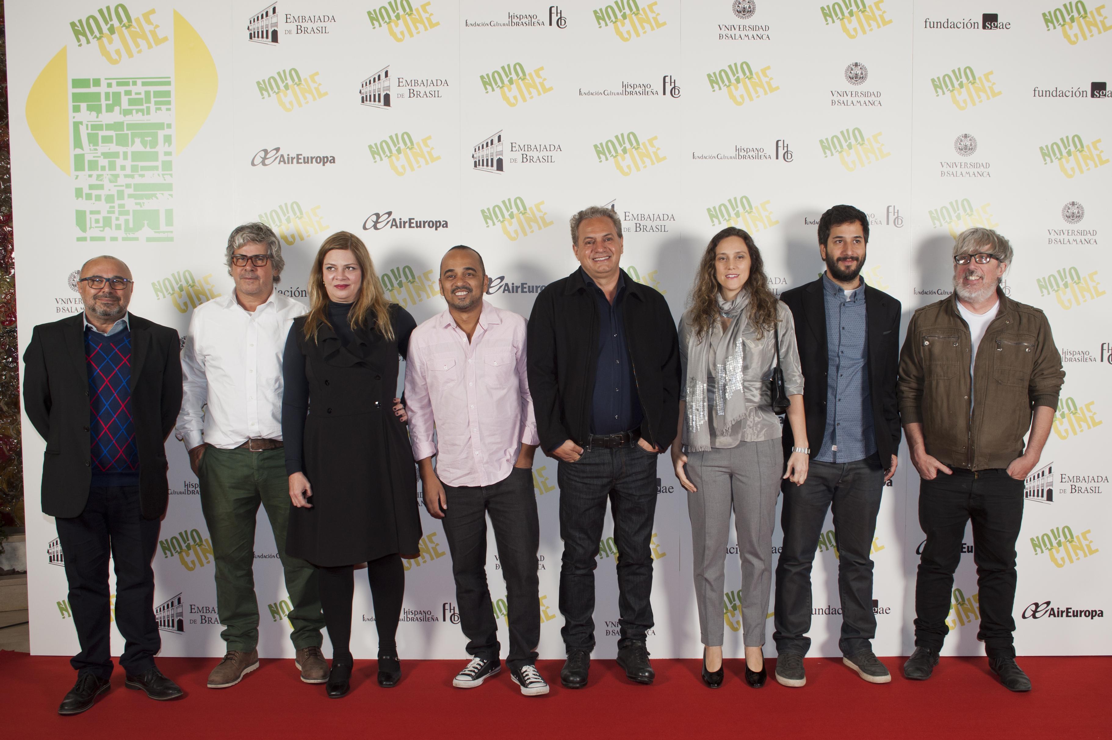 Cineastas y productores participantes en VIII Novocine
