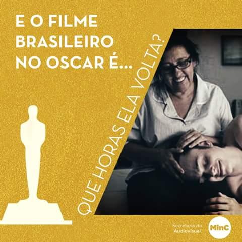 """""""Una segunda madre"""" representará a Brasil en los Oscar"""