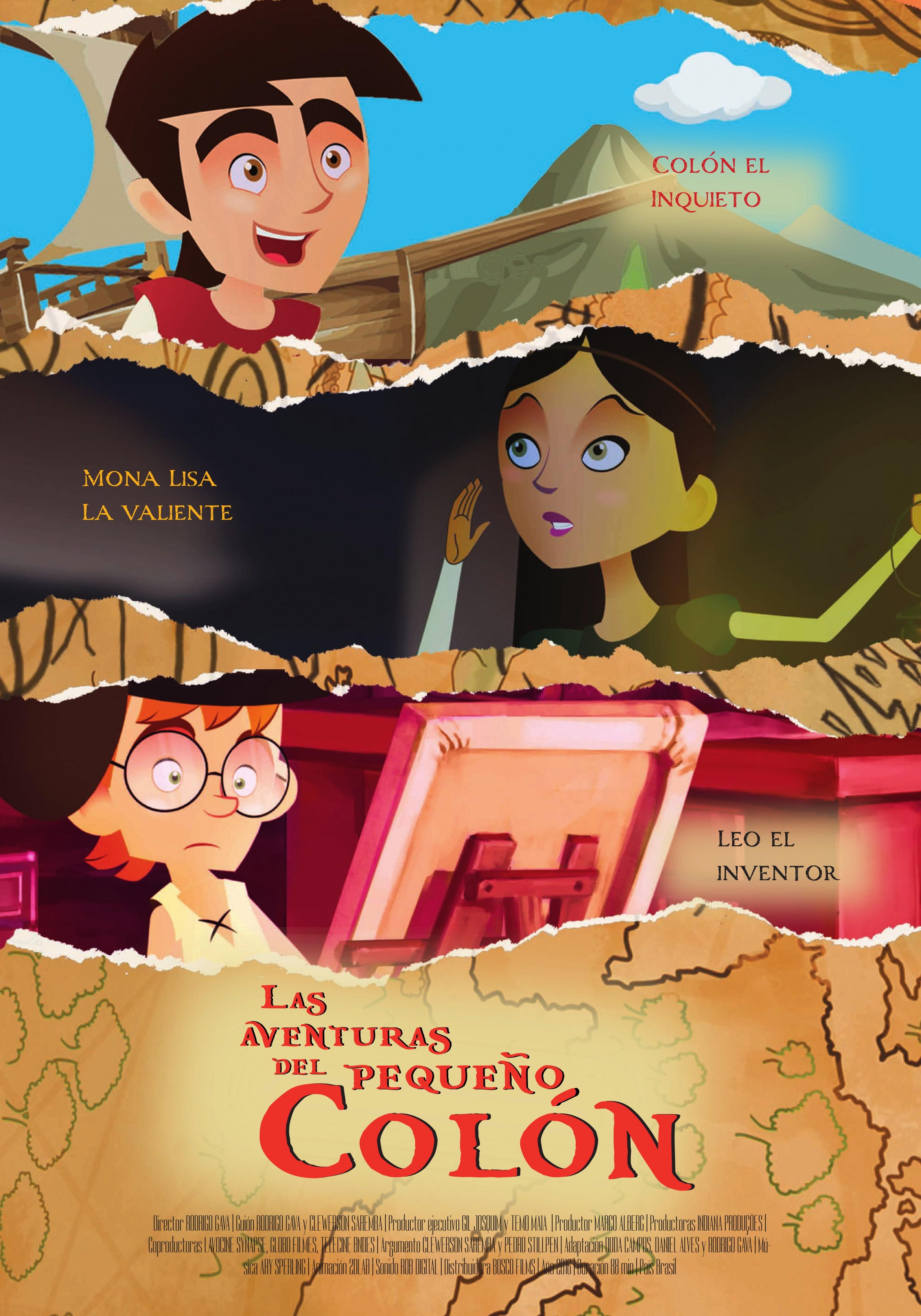 """25 de enero: estreno en cines españoles de """"Las aventuras del pequeño Colón"""""""