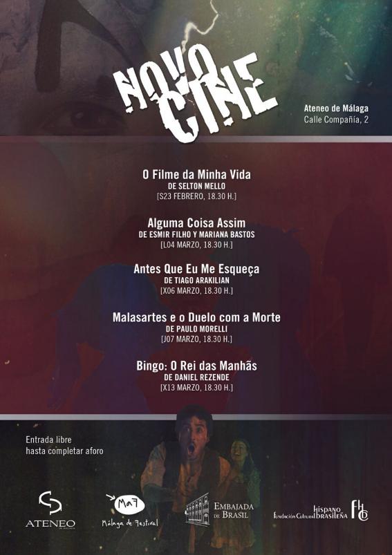 Novocine estrena cinco películas en el Málaga de Festival