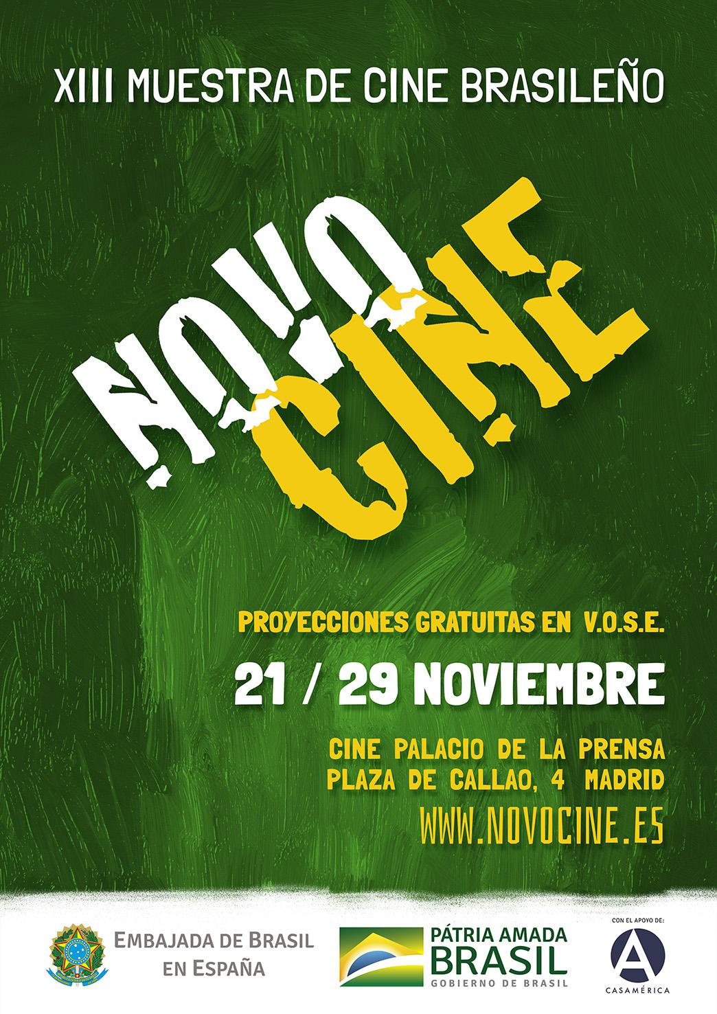 Nota de prensa Novocine 2019 en Madrid