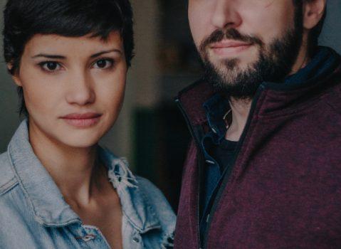 Aline Flores y Alexandre Cristófaro