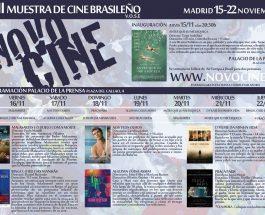 Tríptico Novocine 2018 en Madrid