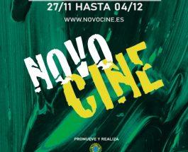 Cartel Novocine 2020 en Madrid