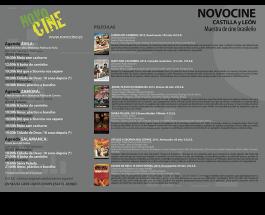 Tríptico Novocine 2015 Castilla y León
